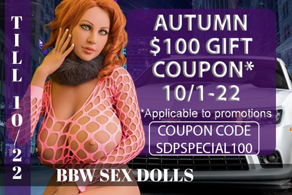 REALISTIC BBW SEX DOLLS BANNER - COUPON SPECIAL - MOBILE