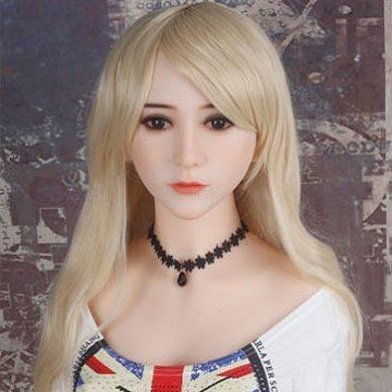 Long blonde with fringe (#3)